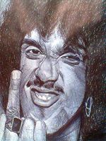 Phil Lynott - Thin Lizzy by rafaelnumeroum