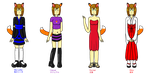 Naomi's Outfits Set 1 V2.0 by DragonQuestWes