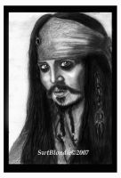 Captain Jack Sparrow by swtblondie