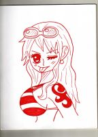 Nami Swann! (updated) by Constanza-Chan14