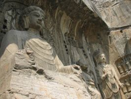 Buddhas of the Dragon Cave by dorianclock