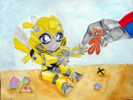 Sparkling Bee by Bumblesz