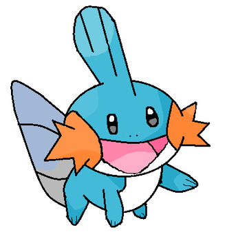 Mudkip by Yagami-Lawliet