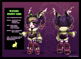 Auction : Wasabi Bunny Girl [CLOSED!] by Nuku-Niku