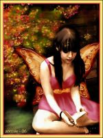 The Reading Fairy by zoozee