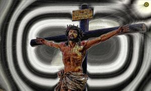 The Crucified One by montag451