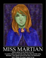 Motivation - Miss Martian by Songue