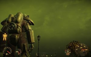 Fallout 4 - One Red Blip, One Green Sky by Toni-Technaclaw