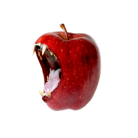 carnivorous apple by R4GNAR