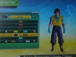 Dellson in Dragonball Xenoverse Beginning by Dell-AD-productions