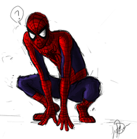 oh hey Spidey by Drasisicgon