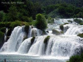 Waterfalls of Krka by Digital-Rhapsody