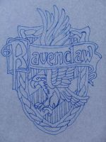 Ravenclaw crest pattern by equiVentus