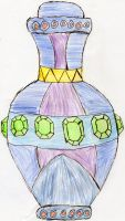 Cristal's Genie bottle by seth270