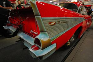 57 Chevy Belair by Jazzhead
