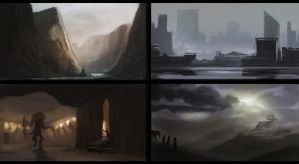 Environment Speedpaintings#2 by SoldatNordsken