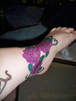 Sharpie Tattoo: Just Roses by bueatiful-failure