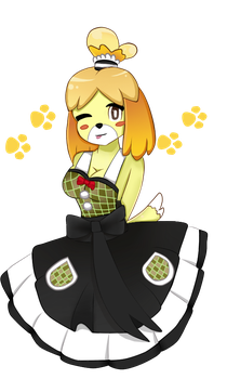 Isabelle Dress by Mariamagic59