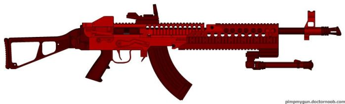 Stoner63E5p Bloody by JederC