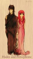 Hades and Persephone by IChiTa--WiYa