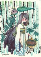 Creatures in the bamboo forest -1- by SilviaVanni