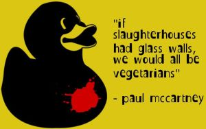 If slaughterhouses by quadrophonic