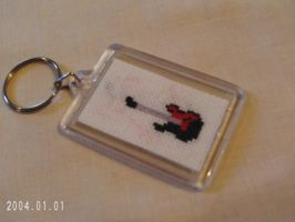 Rock Star Keychain Side 1 by agorby00