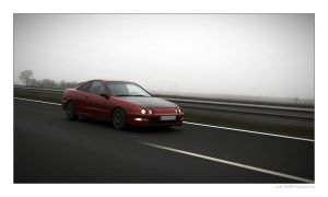 Honda Integra In Motion 01 by miki3d