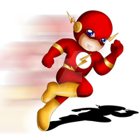 Flash Chibi by ExoroDesigns