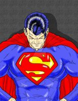 Superman, The Man Of Steel by r-i-p-p-l-e