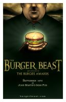 Burgies Awards poster by silentsketcher