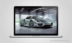 wallpaper 2 Porsche 918 Spyder Macbook Pro retina by albenyd