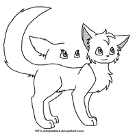 Cat Lineart by WTG-Adoptables