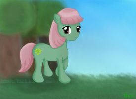 MLP - Rue, my Pony OC by NeonGalaxies