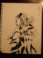 D. gray man allen by decaymyfriend