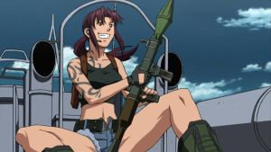 Revy 04 by candycanecroft