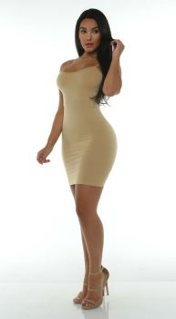 Damaris - Nude Minidress 4 by bossman5468