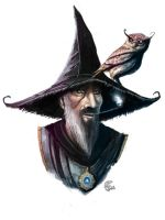 Concept Art: Mage by shiprock