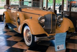 1934 Packard Super Eight Sport Phaeton by PLutonius