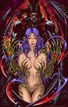 Colored: Witchblade and RipClaw Deadly attraction by johnbecaro