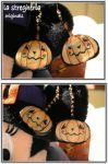 halloween earrings by lastregheria