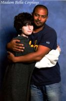 Me with Mickey Smith (Noel Clarke) by MasterCyclonis1