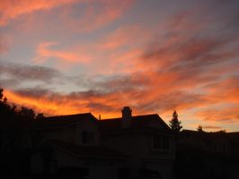 Fire in the Autumn Sky by shaneli1020