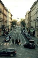 Street of Prague by DarkyMoony