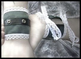 Captive Elegance Wrist Cuffs by ZenAndCoffee