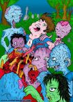Zombies In Colour by RossRadiation