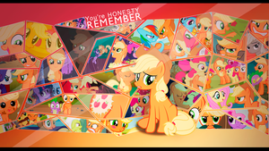 Remember Applejack by EmptyGrey
