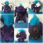 Alistar plush by nfasel
