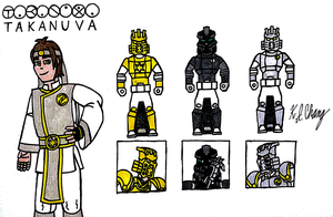 Takanuva Gokaiger Keys by StealthNinja5