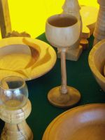 Wooden Goblet by bleedingpyre